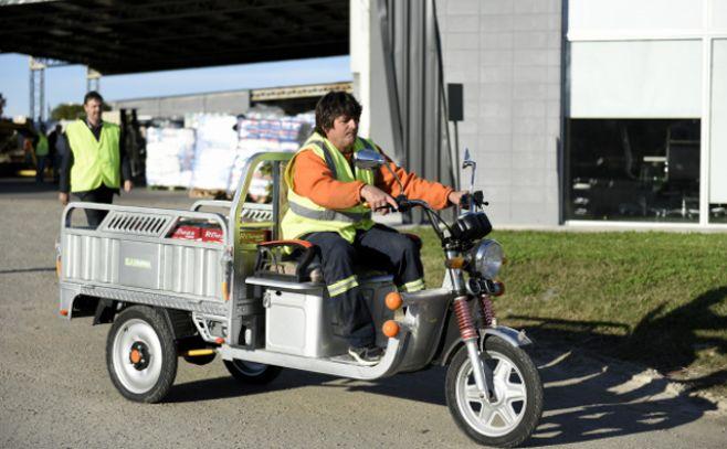 IM entregará los primeros motocarros para clasificación de residuos