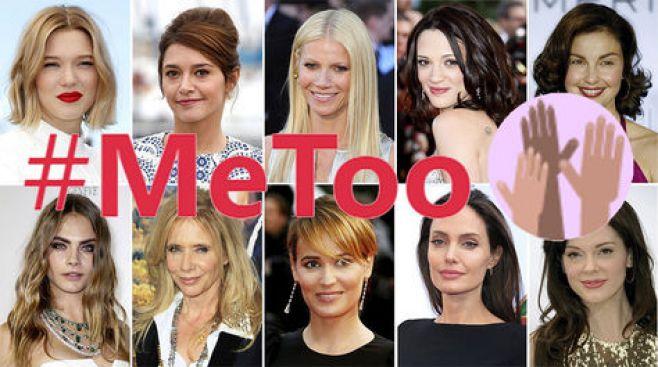 #MeToo, las mujeres de Hollywood en pie de guerra contra los abusos