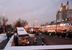 Moscú: cinco peatones murieron arrollados por un autobús