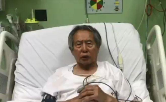 Fujimori pidió perdón y agradeció el indulto otorgado por Kuczynski