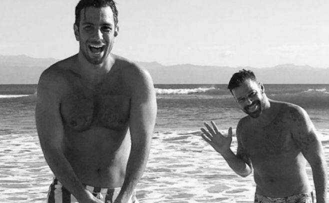 Ricky Martin, Luis Fonsi y Chayanne pasaron Navidad en Puerto Rico