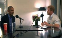 Obama alerta contra redes sociales al ser entrevistado por príncipe Enrique