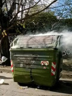 Intendencia registró 85 contenedores incendiados durante fin de año