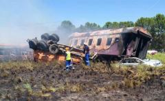 Asciende a 12 el número de muertes en un siniestro de tren en Sudáfrica