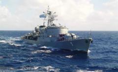 Prefectura de Argentina rescata a marino uruguayo con apendicitis
