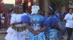 Miles de uruguayos rindieron homenaje a los reyes con un desfile de llamadas