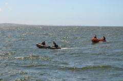 La armada busca  una persona desaparecida en el Arroyo Sauce