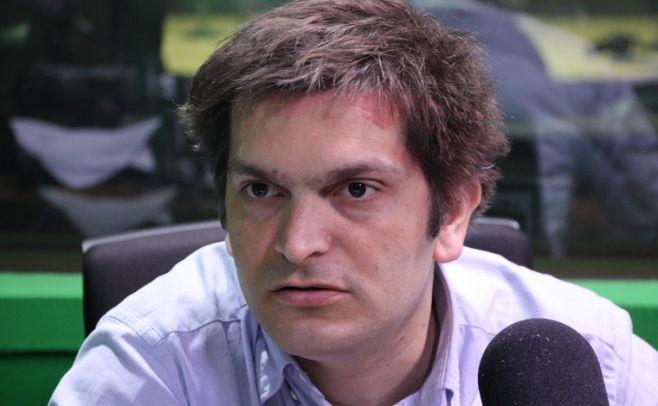 Diego Naser, director artístico y musical de Ossodre. Foto: Julieta Añon/ El Espectador