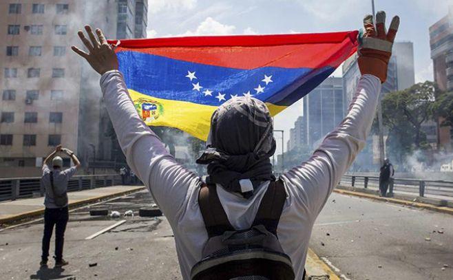 Protestas en Venezuela. Imagen ilustrativa. . Efe