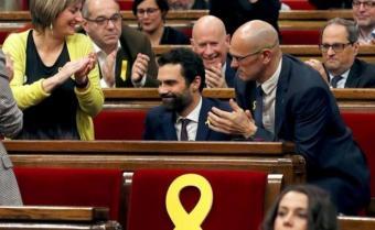 Mayoría independentista y nuevo presidente en el Parlamento catalán