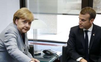 Macron recibirá a Merkel el viernes para hablar sobre el futuro de Europa