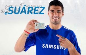 Samsung está presente en el Este uruguayo y con Suárez