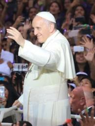 Papa Francisco comienza su agenda oficial en Perú