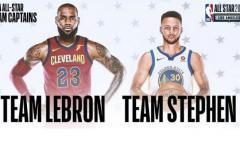 James y Curry son elegidos capitanes de equipos Partido de las Estrellas