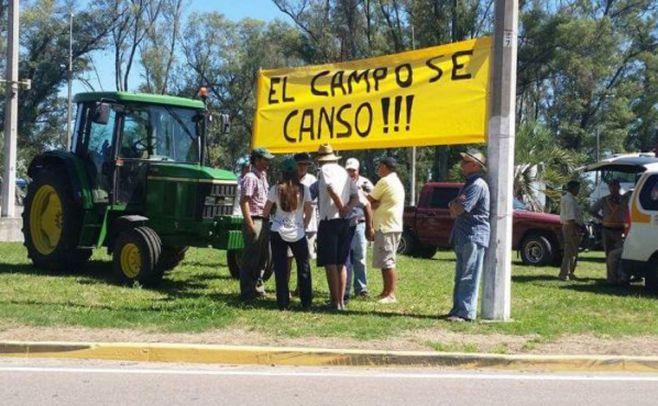 El campo se movilizó para exigir cambios al gobierno de Tabaré Vázquez