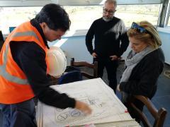 Planta de tratamiento de líquidos residuales en Salto quedará terminada a fin de año