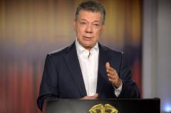 Santos: elecciones serán las más tranquilas de la historia de Colombia