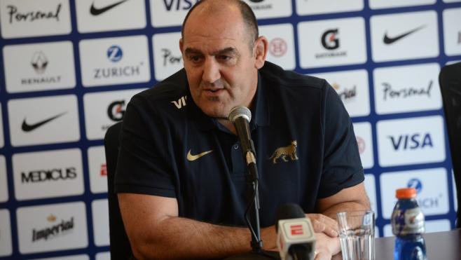 Mario Ledesma llegó a Los Pumas