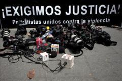 57 periodistas asesinados este año, 18 de ellos en las Américas