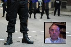 Roberto Rivero, ex director Nacional de Policía, contra la mano dura