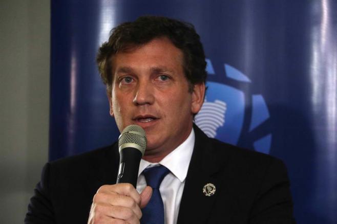 """""""Esto se resuelve con goles"""", pide el presidente de la Conmebol a Boca y River"""