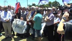 El sindicato de tabacaleros negó que los manifestantes fueran miembros del gremio