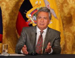 """Lenin Moreno: """"No me agrada la presencia de Assange en nuestra embajada"""""""