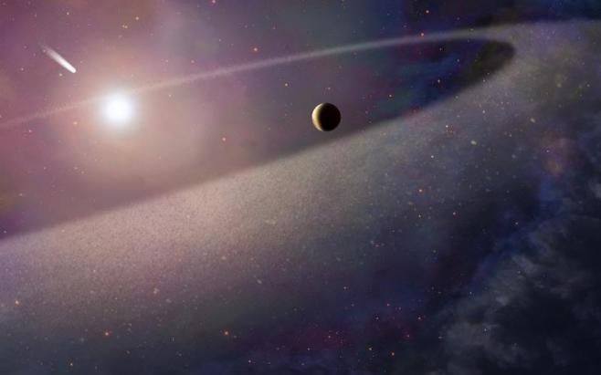 Astrónomos descubren un exoplaneta que acabará por volatilizarse