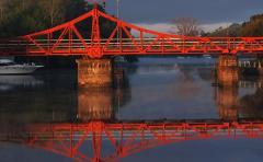 El lunes se habilitará el tránsito por el puente de Carmelo