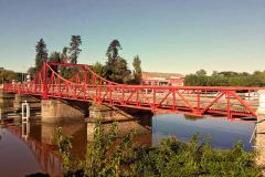Quedó habilitado el puente de Carmelo
