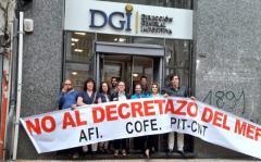 Funcionarios de la DGI pararán este martes en el este del país y se manifestarán en Punta del Este