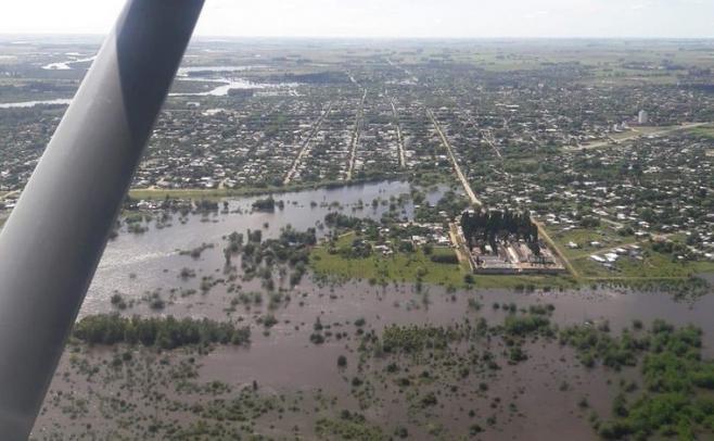 1.539 personas fueron desplazadas por las inundaciones