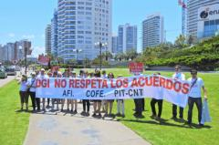 Funcionarios de la DGI se manifestarán en varios balnearios del país