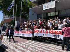 Trabajadores de DGI piden a Vázquez que intervenga en el conflicto que mantienen con la dirección