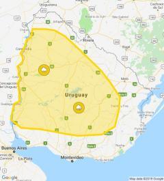Alerta amarilla por lluvias y tormentas para el norte del país