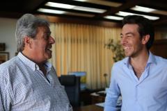 Sartori elogió a Antia por la gestión al frente de la Intendencia de Maldonado