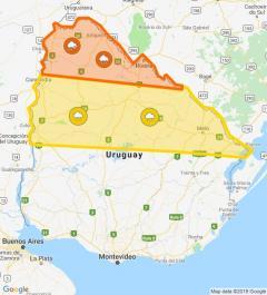 Continúan las alertas para el norte del país