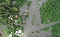 Casi cuatro mil personas desplazadas por las lluvias