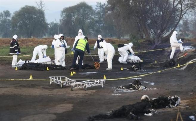 Suman 89 muertos y 58 heridos por explosión en México