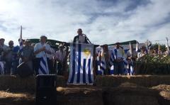"""La proclama del movimiento Un Solo Uruguay, """"la voz de los que no tienen voz"""""""