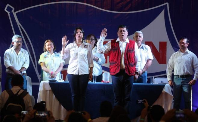 Partido oficial proclama a exmilitar candidato a la Presidencia de Guatemala