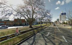 Ciclovía de Avenida Italia era utilizada por autos