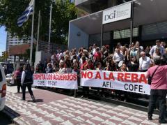 Funcionarios de la DGI ocuparán este miércoles edificio de Fernández Crespo
